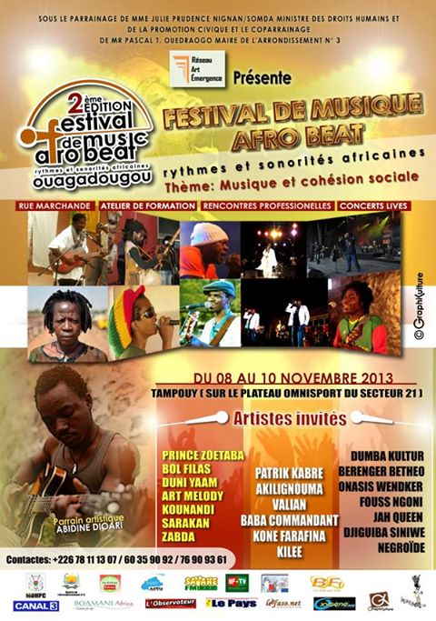 affiche afro beat