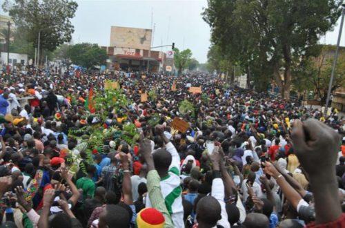 Article : Marche-meeting du 18 janvier au Burkina : un défi à la force ?